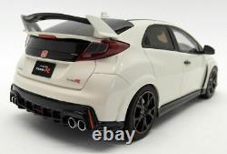 Kyosho 1/18 Scale Resin KSR18022W Honda Civic Type R White (FK2)