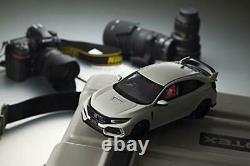 Kyosho 1/18 Voiture Miniature Samouraï Honda Civic Type R Blanc Résine Japon