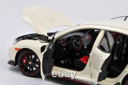 LCD Models 118 Modèle Auto Honda Civic Type-R FK8 Blanc Diecast Modélisme
