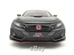 LCD Models Honda Civic Type-R FK8 Black 1/18