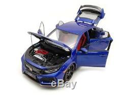 LCD Models Honda Civic Type-R FK8 Blue 1/18