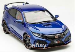LCD Models Honda Civic Type-R FK8 Blue 1/18 Précommande Fin Août 2021