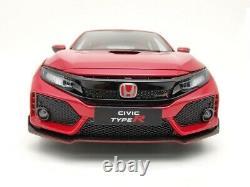 LCD Models Honda Civic Type-R FK8 Red 1/18