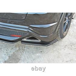 Lame Du Pare Chocs Arrière Honda Civic Viii Type S/R Carbon Look