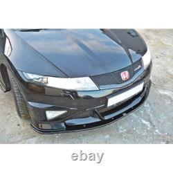 Lame Du Pare-Chocs Avant Honda Civic Viii Type R Gp Carbon Look