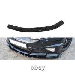 Lame Du Pare-Chocs Avant Honda Civic Viii Type R Gp Gloss Black