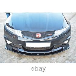 Lame Du Pare-Chocs Avant Honda Civic Viii Type R Gp Textured