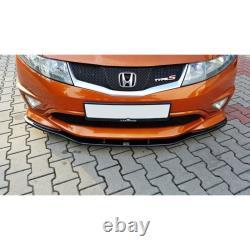 Lame Du Pare-Chocs Avant Honda Civic Viii Type S/R Textured