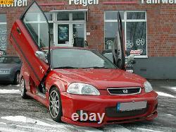 Lsd Lambo Portes à 2 Battants Honda Civic Crx Type EK1 3 4 9