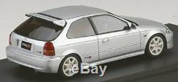 MARK43 1/43 Honda Civic Type R (EK9) Tôt Type Borg Argent Meta Import Japonais