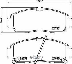 MINTEX Avant Disques + Set Plaquettes pour Honda Civic Berline 2.0 I-Vtec Type R