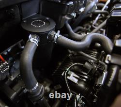 Mishimoto Huile Récipient Pour Honda Civic Type R FK8 Capture Can Kit Noir