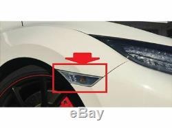 Neuf Jdm Honda Civic Type R FK8 Côté Marqueur Transparent Couleur Origine OEM