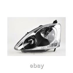 Phare à Gauche Pour Honda Civic Eu / EP Année Fab. 10/03-09/05 HB4/HB3 Avec