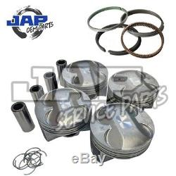 Pistons + Anneaux X4 86.50mm Taille Honda Civic Type R EP3 FN2 K20A2 K20Z4 Orig