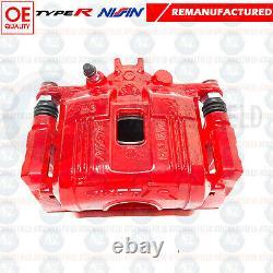Pour Honda Civic 2.0 Type R EP3 FN2 Avant Rouge Frein Étrier Supports X2 Origine