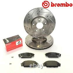 Pour Honda Civic 2.0 Type R EP3 Jdm Avant Performance Brembo Frein Disques Pads