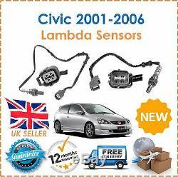 Pour Honda Civic EP3 2.0i Type R 2001-2005 avant & Arrière Sonde Lambda O2