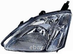 Projecteur Phare Avant dx pour Honda Civic 2001 Au 2003