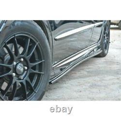 Rajouts Des Bas De Caisse Pour Honda Civic Viii Type S/R Textured