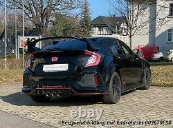 Remus Échappement Sport Usine Incl. Clapet Honda Civic 10 FC FK8 Type-R 3x102mm