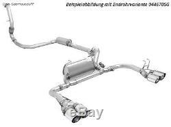 Remus Intégral + Clapets + App Honda Civic 9 FK2 Type-R Bj. 14-17 4xCarbon