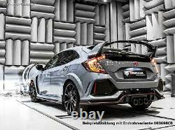 Remus Sportauspuffanlage + Option. Clapet Honda Civic 10 FC FK8 Type-R 3xCarbon