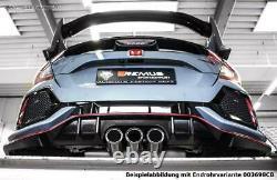 Remus Sportauspuffanlage + Option. Clapet Honda Civic 10 FC FK8 Type-R 3xschräg