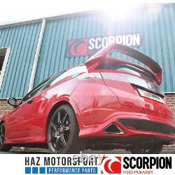Scorpion Exhaust Resonated Chat Arrière Système Honda Civic Type R FN2 2007-2012