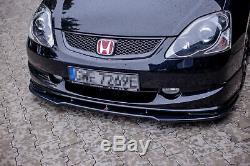 Tasse Lèvre de Spoiler Avant Approche V. 1 Pour Honda Civic EP3 (MK7) Type-R/S DE
