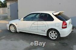 Type-R Spoiler + Base pour Honda Civic Ek 1996 2000 Arrière Coffre Aile Jdm